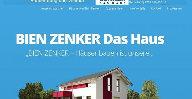 Bauberatung und Verkauf – BIEN ZENKER – Max Fink Diplom Ingenieur